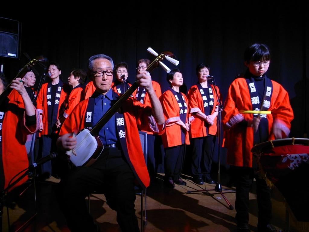 ステージ「郷土愛・岩見沢」